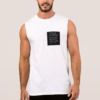 生まれる知らない 袖なしシャツ