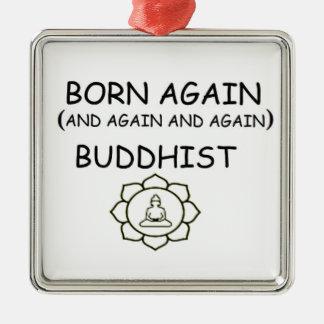 生まれ変わる仏教徒 メタルオーナメント