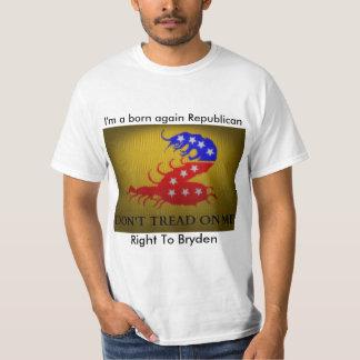生まれ変わる共和党員 Tシャツ