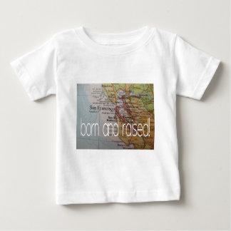 生まれ、上がるサンフランシスコ ベビーTシャツ