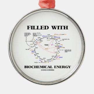生化学的なエネルギー(Krebs周期)で満たされる メタルオーナメント