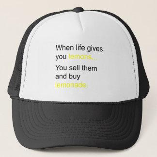 生命およびレモン キャップ