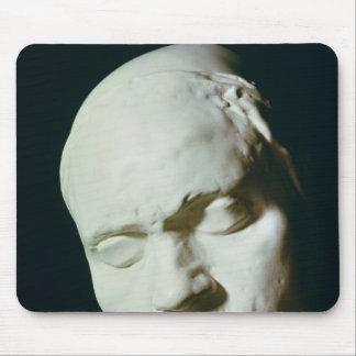 生命から歳で取られるベートーベンのマスク マウスパッド