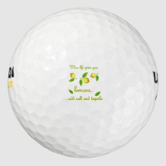 生命がレモンを与える時 ゴルフボール