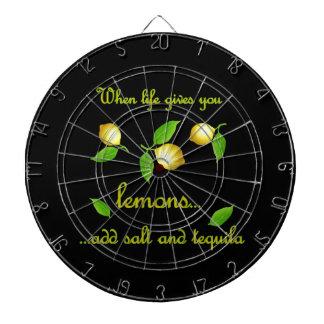 生命がレモンを与える時 ダーツボード