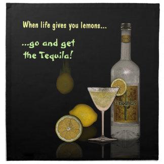 生命がレモンを与える時 ナプキンクロス