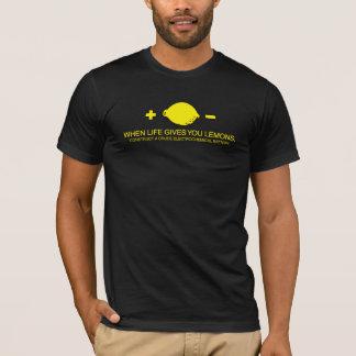 生命がレモンを与える時 Tシャツ