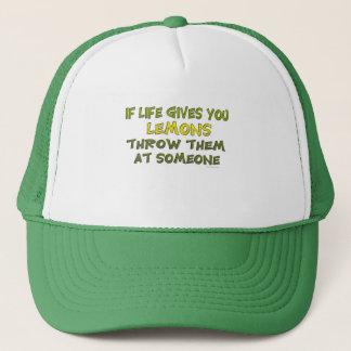 生命がレモン帽子を与えれば キャップ