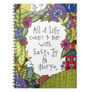 生命すべてはEJGのノートとの私に来ます ノートブック