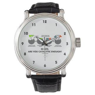 生命では、十分に触媒作用ですか。 酵素のユーモア 腕時計