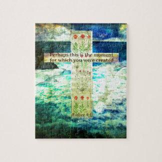 生命についての高揚の感動的な聖書の詩 ジグソーパズル