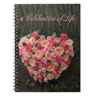 生命のお祝い ノートブック