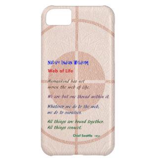 生命のくもの巣: ネイティブアメリカンの知恵 iPhone5Cケース