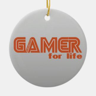 生命のゲーマー セラミックオーナメント