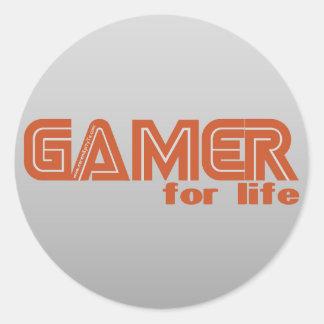 生命のゲーマー ラウンドシール