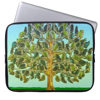 生命のシンプルな喜び生命の樹 ラップトップスリーブ