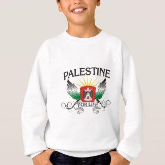 生命のパレスチナ スウェットシャツ