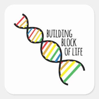 生命のブロック スクエアシール