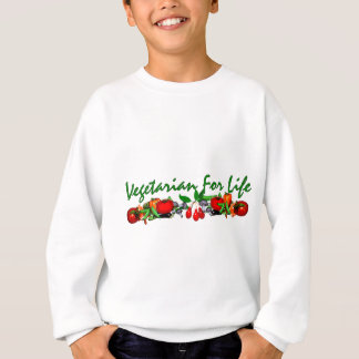 生命のベジタリアン スウェットシャツ