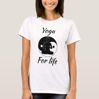 生命のヨガ Tシャツ