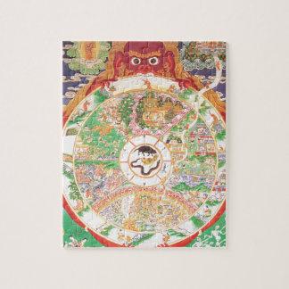 生命の仏教の車輪 ジグソーパズル