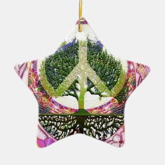 生命の呼吸生命の樹 セラミックオーナメント