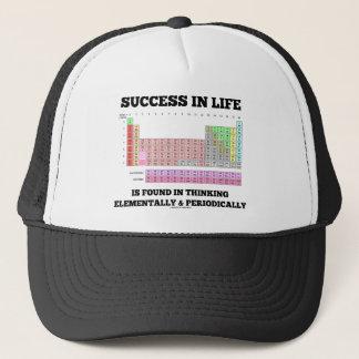 生命の成功は元素に考えることにあります キャップ