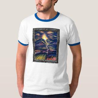 生命の捜索及び道 Tシャツ