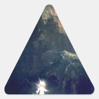 生命の旅行: トマス著幼年期(詳細) 三角形シール