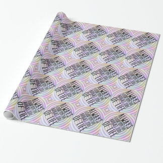 生命の明るい面で常に見て下さい 包み紙