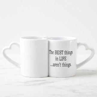 生命の最も最高のな事は事ではないです ペアカップ
