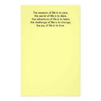 生命の本質は…のリチウムの秘密気になることです 便箋