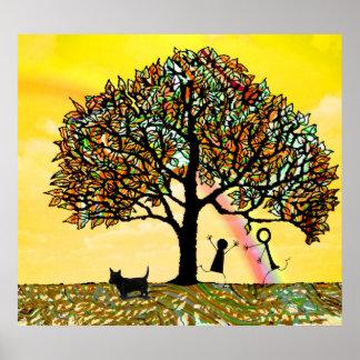 生命の樹は更新します ポスター