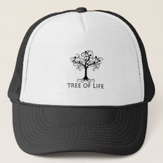 生命の樹、渦巻の木、ザクロZazzle.png キャップ