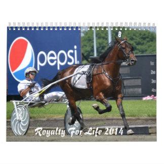 生命の皇族カレンダー12か月2014のII カレンダー