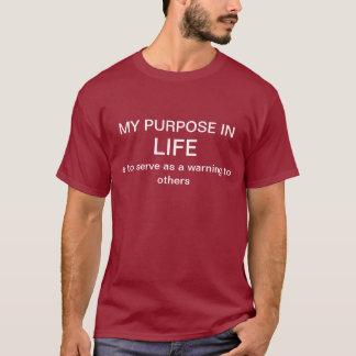 生命の目的 Tシャツ