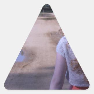 生命の道 三角形シール