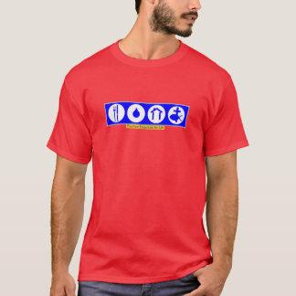 生命の4要素 Tシャツ