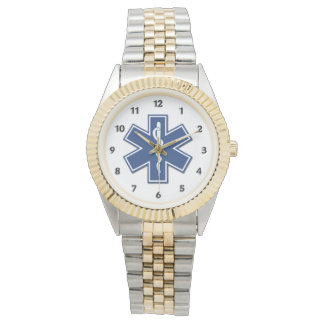 生命のEMSの星 腕時計