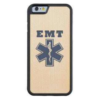 生命のEMTの星 CarvedメープルiPhone 6バンパーケース