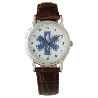 生命のEMT EMSの星 腕時計