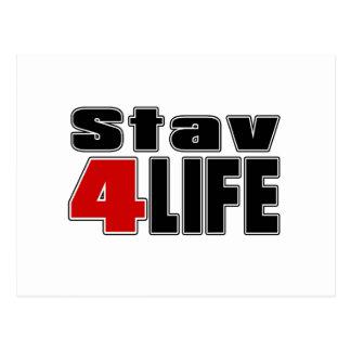 生命のStav ポストカード