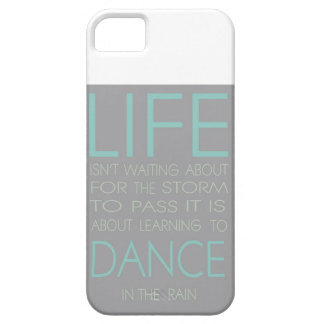生命はそれを渡すために嵐を待っていることについてありません iPhone SE/5/5s ケース