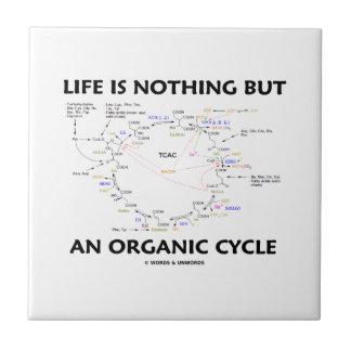 生命はですオーガニックな周期(Krebs周期) タイル