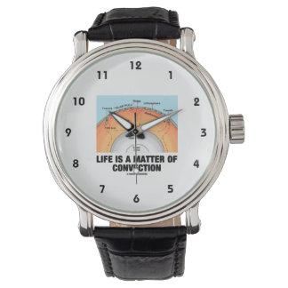 生命はです対流(地球科学)の問題 腕時計