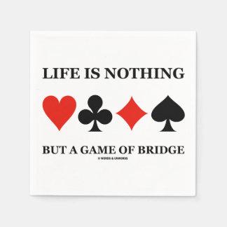 生命はです橋(カードスーツ)のゲーム スタンダードカクテルナプキン