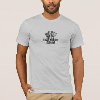 生命はです演劇… 悪い状態の第3行為-トルーマン・カポーティ Tシャツ
