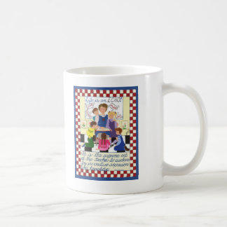 生命はエコーです コーヒーマグカップ