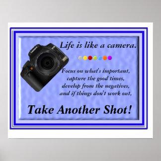 生命はカメラのようです ポスター