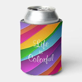 生命はカラフルです 缶クーラー